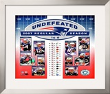 Patriots Undefeated Framed Photographic Print