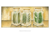 Spice Jars II Prints by Laura Nathan
