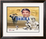 Yogi Berra Legends Composite - ©Photofile Framed Photographic Print