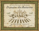 French Wine Labels III Poster by Daphne Brissonnet