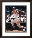 Thurman Munson - batting - ©Photofile Framed Photographic Print