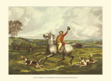 The English Hunt VI Affiches par Henry Alken
