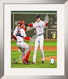 Jon Lester&#39;s 2008 No Hitter, Celebration Framed Photographic Print