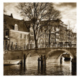 Autumn in Amsterdam II Poster by Jeff Maihara