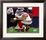 Michael Strahan - Super Bowl XLII Framed Photographic Print