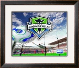Seattle Sounders 2008  Logo Framed Photographic Print