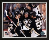 Sidney Crosby - 1st Goal / Celebration Framed Photographic Print