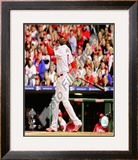Ryan Howard Game 4 of the 2008 MLB World Series Framed Photographic Print
