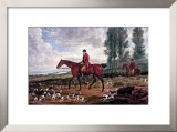 Horse Fox Hunt II Prints by Timothy Blossom