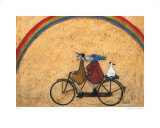 Somewhere under a Rainbow Affiches par Sam Toft