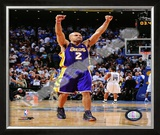 Derek Fisher - '09 Finals Framed Photographic Print