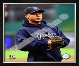 Derek Jeter 2008 Close Up Framed Photographic Print