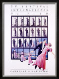 38th Cannes International Film Festival Framed Giclee Print