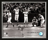 Carlton Fisk Multi Exposure - ©Photofile Framed Photographic Print