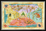 Marvelous Map of Oz Posters