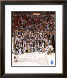 Pittsburgh Penguins Game 7 of the 2008-09 NHL Stanley Cup Finals Celebration Framed Photographic Print