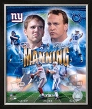 Eli And Payton Manning Framed Photographic Print