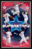 MLB Superstars 2009 Posters