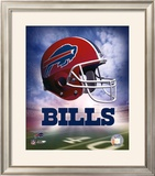 Bills Helmet Logo ('04) ©Photofile Framed Photographic Print