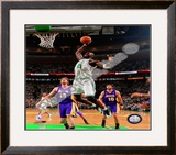 Kevin Garnett, Game 1 of the 2008 NBA Finals; Action 1 Framed Photographic Print