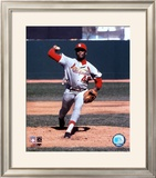 Bob Gibson - Pitching Action Framed Photographic Print