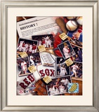 2004 Boston Red Sox Framed Photographic Print
