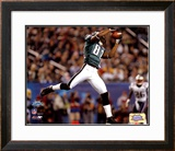 Terrell Owens - Super Bowl XXXIX - Makes The Reception For A 30 Yard Completion Framed Photographic Print