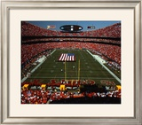 Arrowhead Stadium - KC Chiefs - Daytime Framed Photographic Print