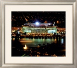 Three Rivers Stadium - Night Shot - ©Photofile Framed Photographic Print