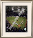 Metrodome 2008 Opening Day; Minnesota Twins Framed Photographic Print
