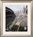Qwest Field Framed Photographic Print