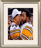 Super Bowl XL - Hines Ward And Jerome Bettis Framed Photographic Print