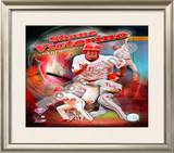 Shane Victorino Framed Photographic Print