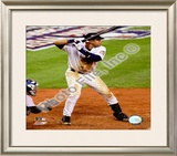 Derek Jeter 2008 Batting Action Framed Photographic Print