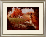 Lookout Framed Giclee Print by Susan Sponenberg