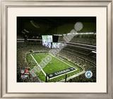 Cowboys Stadium Opening Night 2009 Framed Photographic Print