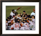 Red Sox Celebration - 2004 World Series victory over St. Louis ©Photofile Framed Photographic Print
