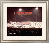 Foxboro Stadium - Last Game Overlay - ©Photofile Framed Photographic Print