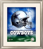 Dallas Cowboys Helmet Logo ©Photofile Framed Photographic Print
