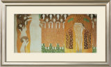 Beethoven Frieze Posters by Gustav Klimt