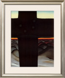 Black Cross New Mexico Posters por Georgia O'Keeffe