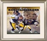 Ben Roethlisberger - Portrait Plus 2004 Composite Framed Photographic Print