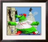 The Philly Phanatic 2008 World Series Parade Framed Photographic Print