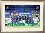 Everton Team Photo 2005-2006 Print