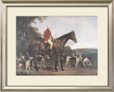 Mr. Williamson, Huntsman to His Grace Prints by Robert Frain