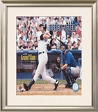 Derek Jeter - 2005 1st Career Grand Slam Framed Photographic Print