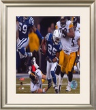 Ben Roethlisberger - 2005 Playoffs Framed Photographic Print