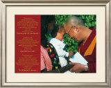 Dalai Lama: Never Give Up on Peace Prints