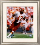 Doug Williams - Looking For Receiver Framed Photographic Print