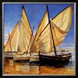 White Sails II Art by Jaume Laporta